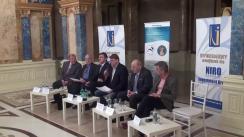 """Conferința organizată de Fundația Universitară a Mării Negre cu tema """"România și Ungaria: reconciliere franco-germană sau """"război rece"""""""