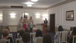 Ceremonia de acordare a distincțiilor de stat de către președintele Republicii Moldova, Igor Dodon, cu ocazia Zilei Internaționale a Femeii