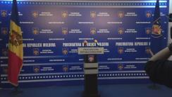 Briefing de presă organizat de Procuratura Generală privind aspecte strategice ale reformei instituționale