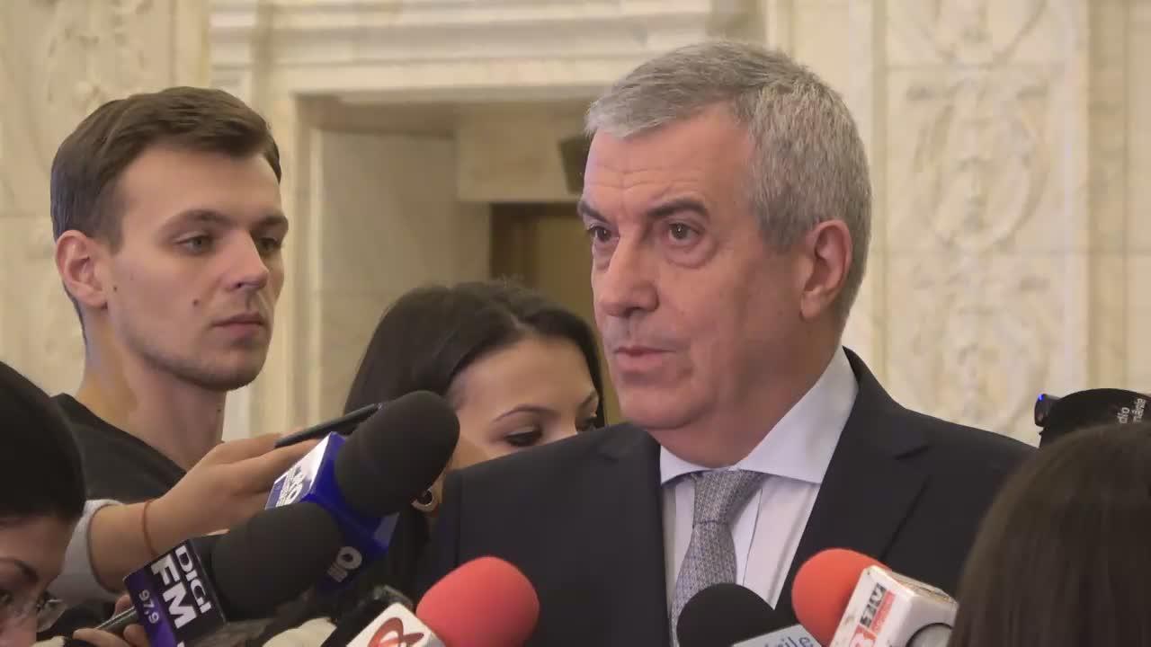 Declarații de presă susținute de Președintele Senatului, Călin Popescu-Tăriceanu