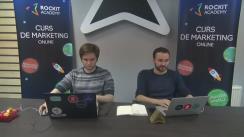 Lansarea cursului de marketing online al Academiei RockIT