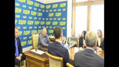 Semnarea acordului de colaborare dintre Partidul Liberal Democrat din Rusia și Partidul Nostru