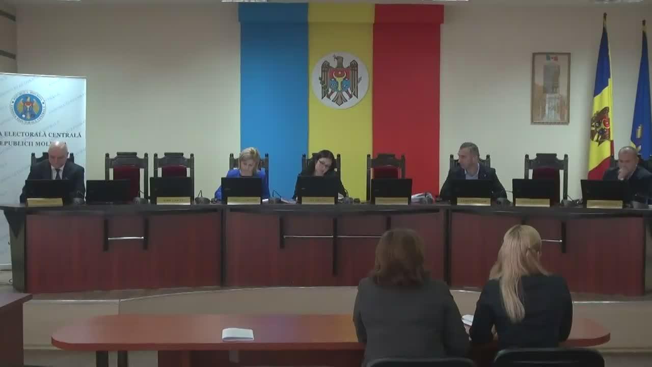 Ședința Comisiei Electorale Centrale din 14 martie 2017
