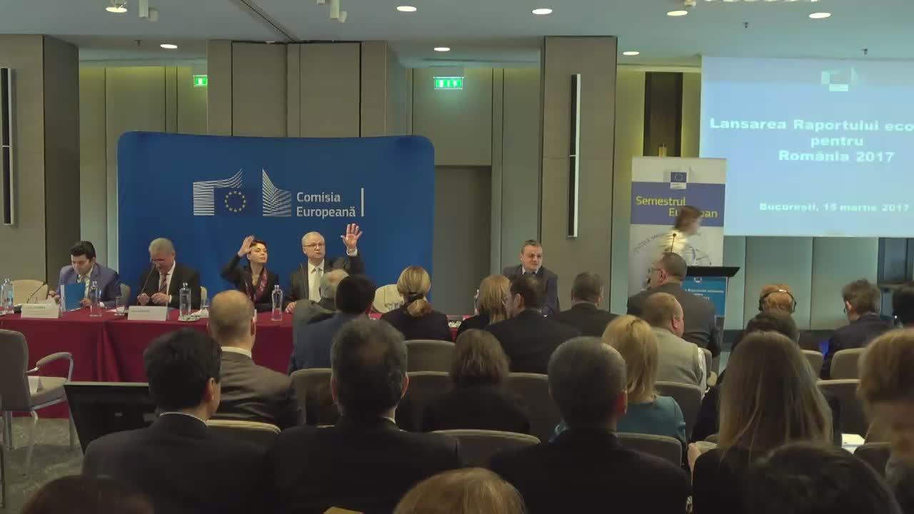 """Conferința cu tema """"Lansarea raportului economic pentru România 2017″"""