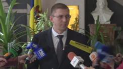 Briefing susținut de Procuratura Anticorupție privind reținerea ministrului Agriculturii și Industriei Alimentare, Eduard Grama