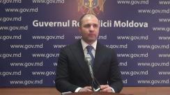 Declarațiile lui Vladimir Cebotari după ședința Guvernului Republicii Moldova din 15 martie 2017