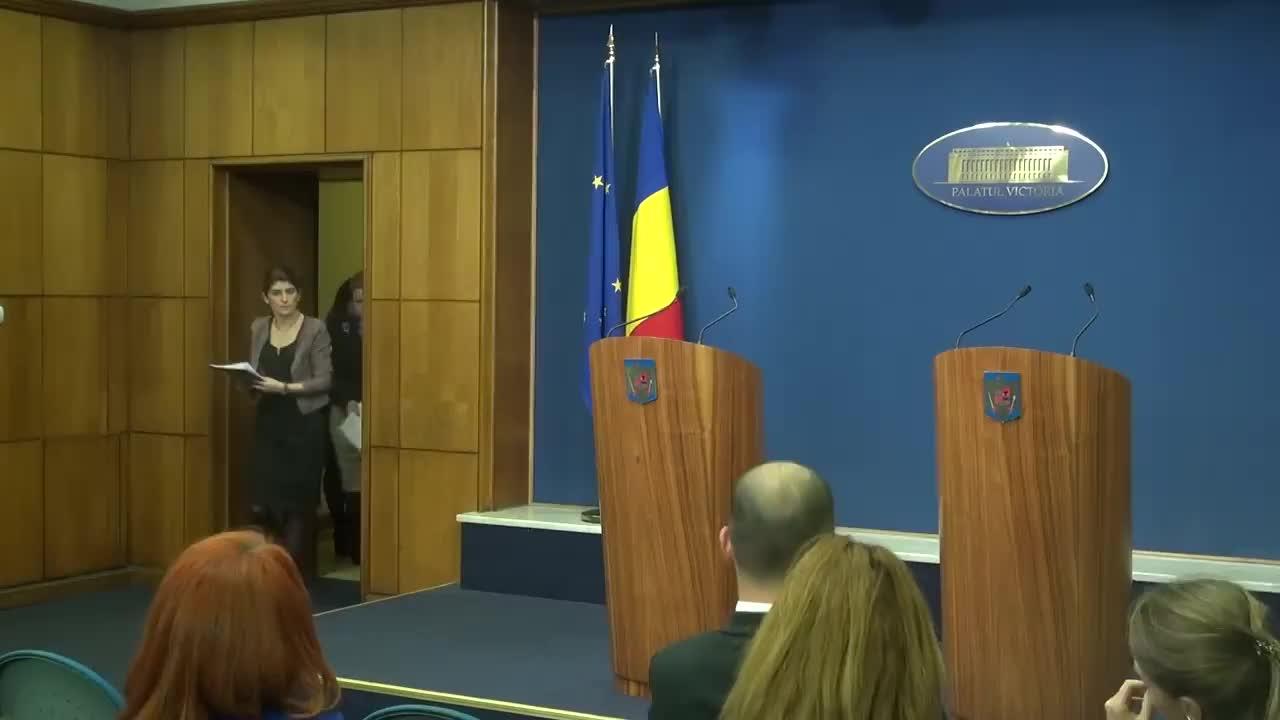 Declarații de presă după ședința de guvern din 16 martie 2017