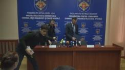 """Conferință de presă cu tema """"Destructurarea unor grupări criminale specializate în trafic de persoane și proxenetism"""""""