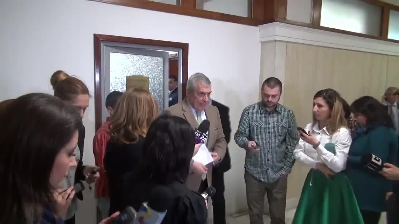 Declarație de presă susținută de co-președintele ALDE, Călin Popescu-Tăriceanu