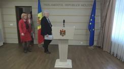 Declarațiile lui Vladimir Voronin în timpul ședinței Parlamentului Republicii Moldova din 17 martie 2017