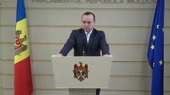 Declarațiile lui Vlad Bătrîncea în timpul ședinței Parlamentului Republicii Moldova din 17 martie 2017