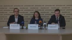 """Conferință de presă organizată de Asociația Promo-LEX cu tema """"Discriminarea față de femei a fost constatată în primul caz împotriva Moldovei, la Comitetul ONU pentru Eliminarea Discriminării împotriva Femeilor"""""""