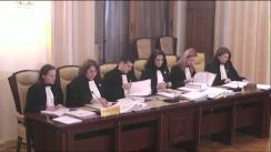 Ședința Curții Constituționale a României din 21 martie 2017