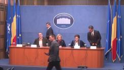 Conferință de presă susținută de Ministrul Afacerilor Interne, Carmen Daniela Dan, pe tema proiectului de Lege pentru modificarea și completarea unor acte normative care cuprind dispoziții privind evidența persoanelor și actele de identitate ale cetățenilor români (C.E.I.)