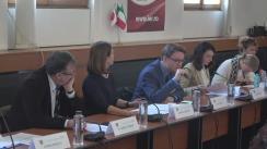 """Dezbaterea """"Accesibilitatea serviciilor medicale și de îngrijire în România"""""""