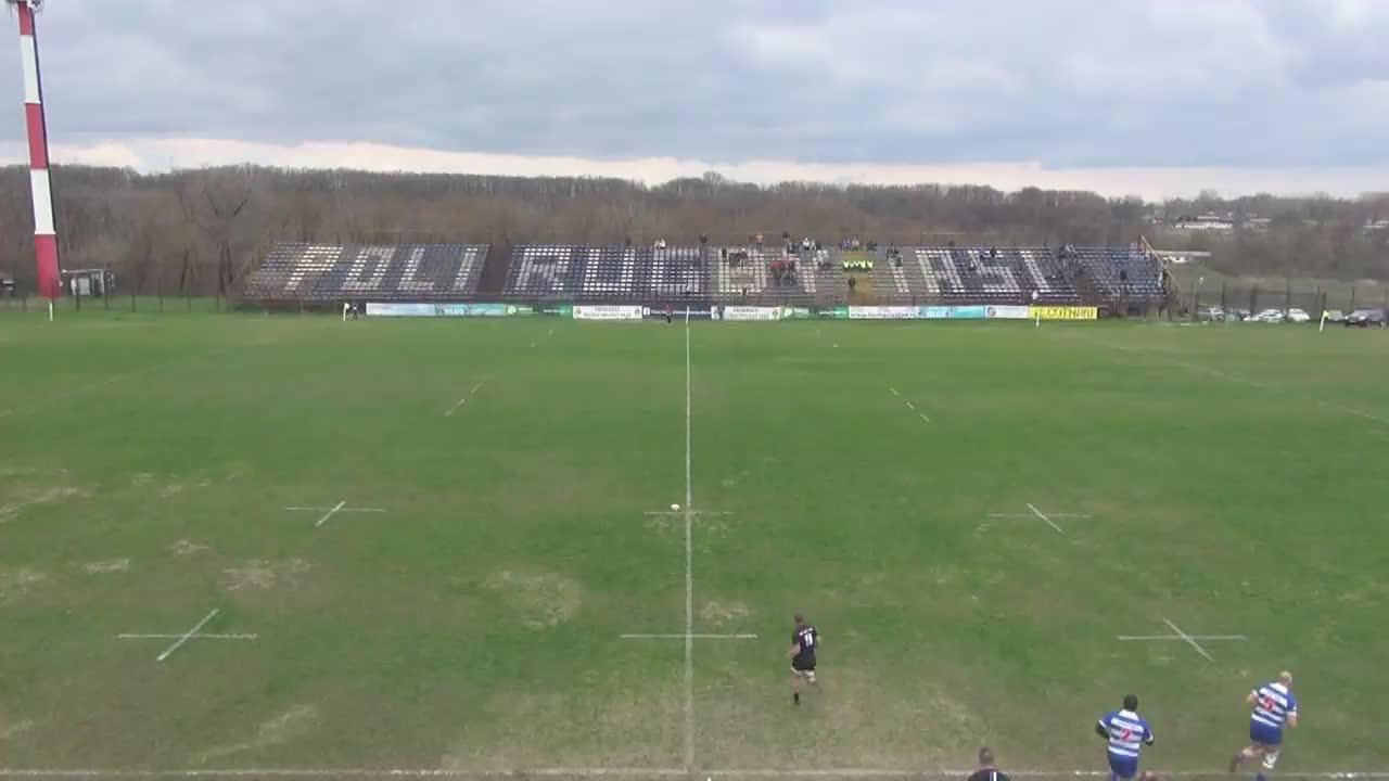Meciul de Rugby între CS Politehnica Iași - CSM Știința Baia Mare. SuperLiga CEC BANK 2016