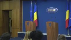 Declarații de presă susținute de Ministrul delegat pentru Afaceri Europene, Ana Birchall, și Ministrul Sănătății, Florian-Dorel Bodog, după ședința Guvernului României din 22 martie 2017