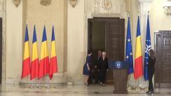 Ceremonia de decorare a domnului Cristian Țopescu de către Președintele României, Klaus Iohannis