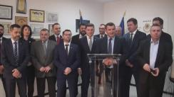 Parlamentari PMP în vizită la Chișinău cu ocazia zilei Unirii Basarabiei cu România