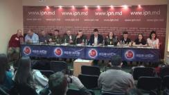 """Conferință de presă organizată de Asociația Obștească """"ONOARE, DEMNITATE și PATRIE"""" cu tema """"Probe despre fraudarea alegerilor de socialiști și acțiunile ulterioare ale unioniștilor"""""""