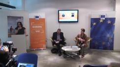 """Evenimentul """"Quo vadis Europa? Quo vadis România?"""" și dezbaterea pe teme europene prilejuită de apariția volumului """"România și calea de viață europeană"""", de prof.dr. Vasile Pușcaș"""