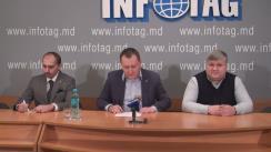 """Conferință de presă susținută de fondatorul Fundației Freedom Moldova, Grigore Petrenco, cu tema """"În Republica Moldova va apărea Fundația pentru protecția drepturilor omului Freedom Moldova"""""""