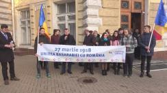 Flashmob organizat de Tineretul Liberal