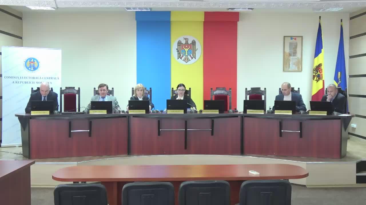 Ședința Comisiei Electorale Centrale din 28 martie 2017