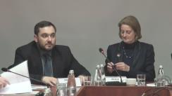 """Masa rotunda """"Prezentarea rezultatelor cercetării opiniei publice privind funcționarea instituțiilor social-economice și politice din UTA Găgăuzia"""""""