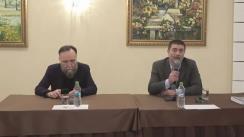"""Lansarea la Chișinău a cărții lui Aleksandr Dughin """"Destin Eurasianist"""", o atologie în traducerea lui Iurie Roșca"""