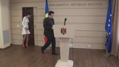 Declarațiile lui Vadim Pistrinciuc în timpul ședinței Parlamentului Republicii Moldova din 30 martie 2017