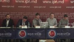 """Conferință de presă organizată de Mișcarea Civică """"Tinerii Moldovei"""" cu tema """"Falsificarea datelor recensământului"""""""