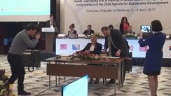 Miniștrii Sănătății din Europa de Sud-Est semnează o declarație subliniind angajamentul privind provocările majore în domeniul sănătății