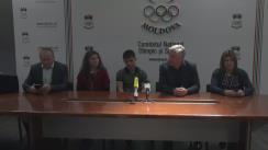 Conferință de presă consacrată rezultatelor participării sportivilor moldovenești la Campionatul European U-23