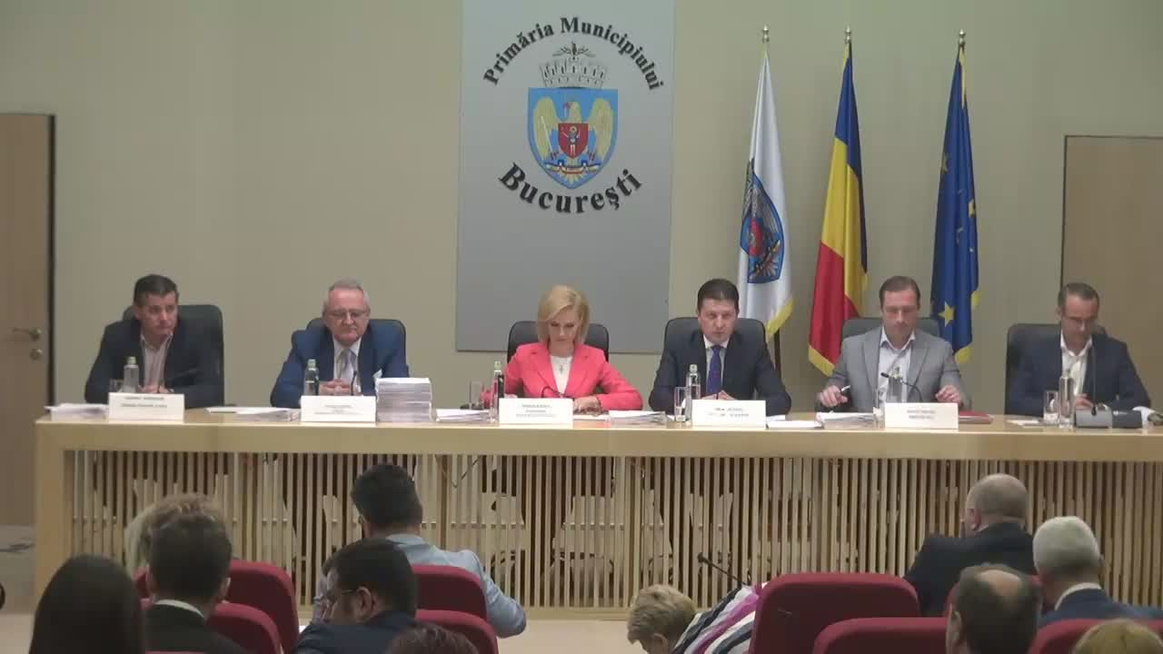 Ședința Consiliului General al Municipiului București din 5 aprilie 2017