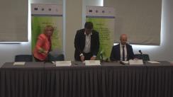 Conferință de presă susținută de Secretarul de stat din cadrul Ministerului Mediului, Laurențiu Adrian Neculaescu