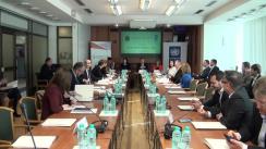 """Masa rotundă organizată de CNA și Expert-Grup cu genericul """"Costurile corupției în municipiul Chișinău"""""""