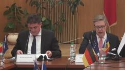 """Conferința de închidere a proiectului Twinning """"Consolidarea sectorului standardizării și metrologiei în conformitate cu cele mai bune practici din statele membre ale EU"""""""