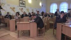 Ședința săptămânală a serviciilor primăriei Chișinău din 10 aprilie 2017