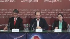 """Conferință de presă cu tema """"Iubesc Moldova"""" - 6 ani de activitate"""""""