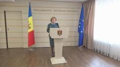 Declarațiile Zinaidei Grecianîi în timpul ședinței Parlamentului Republicii Moldova din 6 aprilie 2017