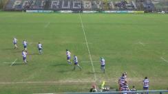 Meciul de Rugby între CS Politehnica Iași - CSA Steaua București. SuperLiga CEC BANK 2016
