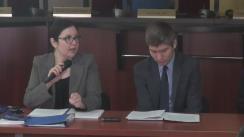 Masa rotundă în vederea dezbaterii subiectului înregistrării prealabile a cetățenilor cu drept de vot care în ziua alegerilor se vor afla în străinătate