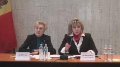 """Masa rotundă organizată de Uniunea Femeilor din Republica Moldova cu tema """"Reprezentarea femeilor în Parlament, în condiția trecerii la sistemul electoral uninominal"""""""
