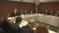 """Masă rotundă organizată de Expert-Grup cu tem """"2 ani de la implementarea ZLSAC în Republica Moldova: impact și lecții învățate"""""""