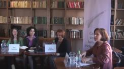 """Club de presă cu tema """"Inițiativa """"Ea decide"""": cum asigurăm drepturile sexuale și reproductive ale femeilor în Moldova?"""""""