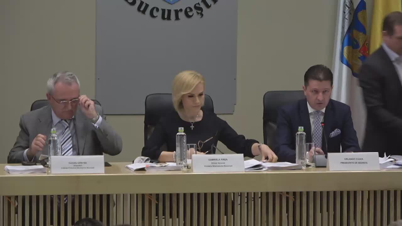 Ședința Consiliului General al Municipiului București din 11 aprilie 2017