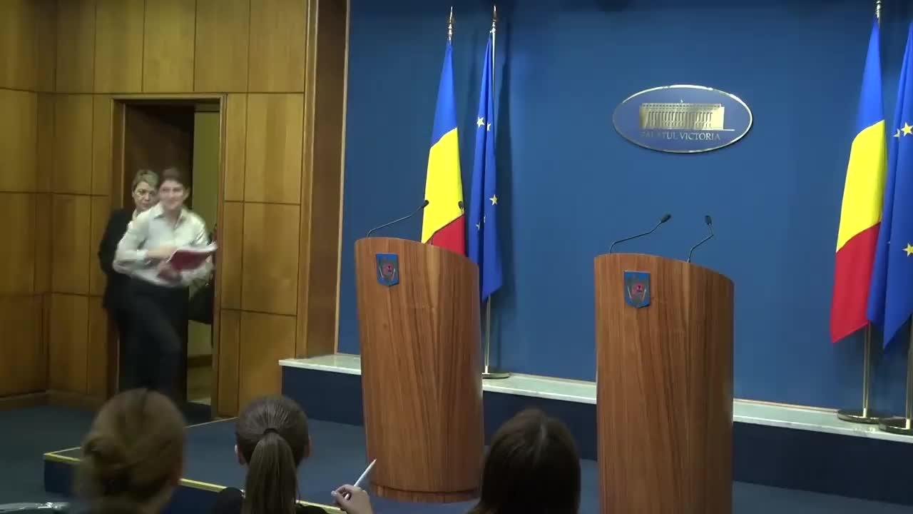 Declarații susținute de Sevil Shhaideh, viceprim-ministru, ministrul Dezvoltării Regionale, Administrației Publice și Fondurilor Europene și Viorel Ștefan, ministrul Finanțelor Publice, la finalul ședinței de guvern