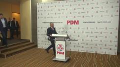 Briefing privind deciziile luate în cadrul Consiliului Politic Național al Partidului Democrat din Moldova