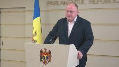 Declarațiile lui Vasile Bolea în timpul ședinței Parlamentului Republicii Moldova din 13 aprilie 2017